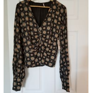 NWT Free People blouse, large